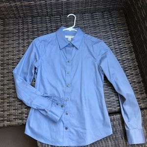 Banana Republic Tailored Non-Iron Fitted Shirt